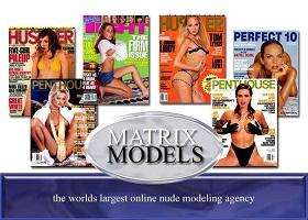 Matrix Models Photo Logo